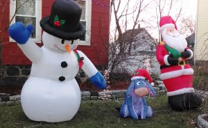 Frosty, Eor, and Santa
